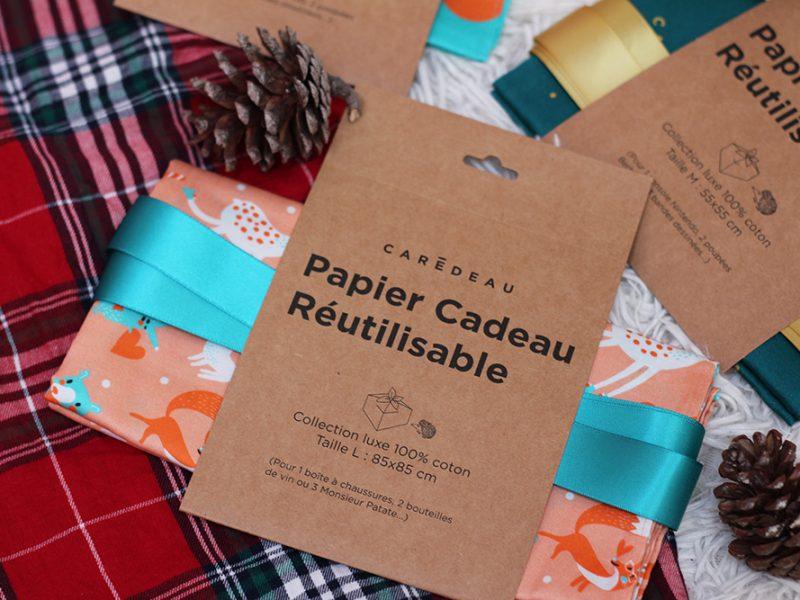 Noël Zéro Déchet // Le papier cadeau réutilisable